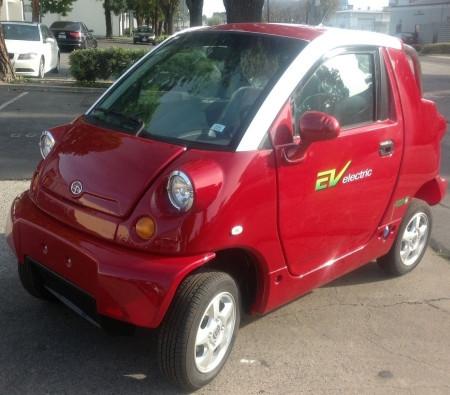 2013 Ewheels LSV EV Low Speed Vehicle 2 Seater Electric Car