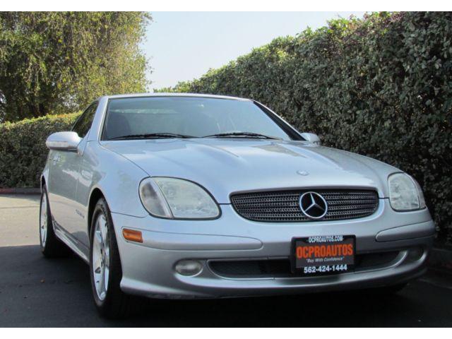 Mercedes-Benz : SLK-Class 2dr Kompress Manual Sport Power Seats Leather Clean Bose Premium Sound V4 Supercharged