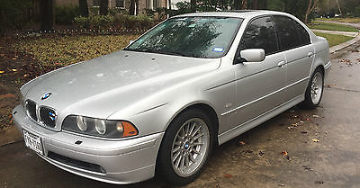 BMW : 2002 540i 2002 bmw 540 i m sport low miles extras v 8 gorgeous condition below nada value