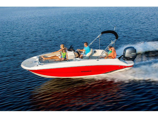 Stingray 192 Sc Deck Boat Boats For Sale