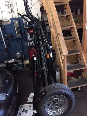 Yamaha : YZF yamaha R6S with kendall motorcyce foldable trailer
