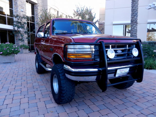 Ford : Bronco GORGEOUS XLT WOW! 126k Orig. Miles~Gorgeous~Rebuilt Trans.~1989,1990,1991,1992,1993,1995,1996