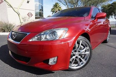 Lexus : IS 08 IS350 Sedan IS 350 Clean CarFax Red Lexus IS Clean CarFax Arizona Car like 2005 2006 2007 2009 2010 2011 IS250