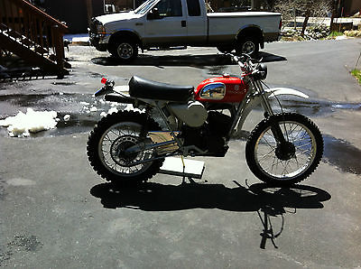 Husqvarna : wr250 1974 husqvarna wr 250 with current ca street license plate