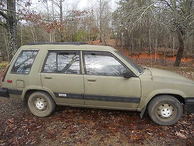Toyota tercel sr5 for sale