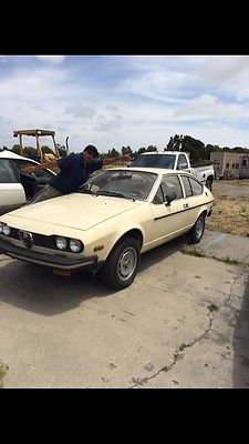 Alfa Romeo : GTV gtv  1976 alfa romeo gtv 4 alfetta 1 owner california italian classic professor car