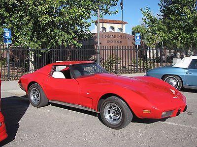 Chevrolet : Corvette 1977 corvette