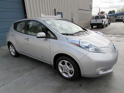 Nissan : Leaf SL Electric Vehicle EV Navigation One Owner 2012 nissan leaf sl quick charge navigation bluetooth sat 12 car knoxville tn