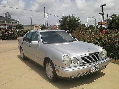 Mercedes-Benz : E-Class 4 Door 1999 mercedes benz e class e 320 collector s classic family owned 79 k miles