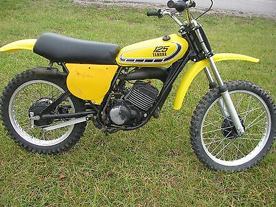 1976 yamaha yz 125 motorcycles for sale for 2001 yamaha pw80 for sale