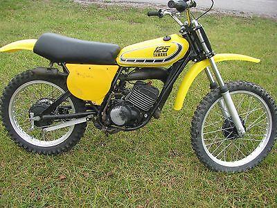 Yamaha : YZ 1976 yamaha yz 125 c