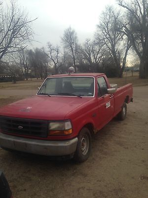 Ford : F-150 1994 ford f 150 low miles 4.9 l efi in line 6 cylinder 2 wd auto overdrive ac