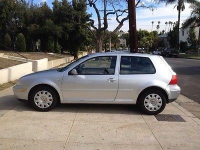 Volkswagen : Golf 2001 golf gl silver 108 800 miles
