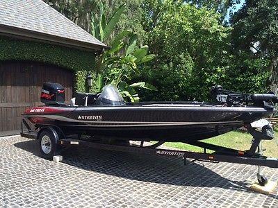 2005 bass boat stratos 285 pro xl