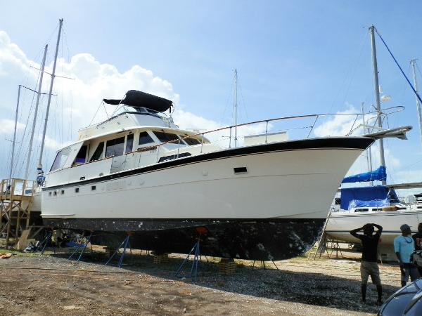 Hatteras 53 motor yacht boats for sale in florida for Motor yachts for sale in florida