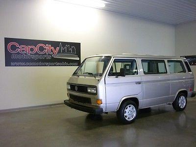 Volkswagen : Bus/Vanagon 1991 volkswagen vanagon with 94 k original miles z bed beautiful