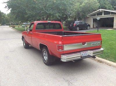 Chevrolet : C-10 Silverado 1986 chevy c 10 silverado