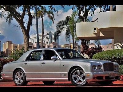 Bentley : Arnage T MOONBEAM SILVER ONLY 10K MILES $675.00 A MONTH T DIAMOND LEATHER