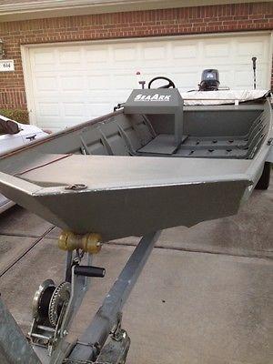 Seaark 16 Ft Aluminum boat