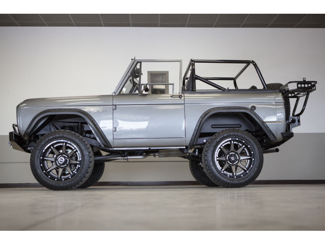 Ford : Bronco 1973 ford bronco frame off restoration 347 stroker blueprint efi a c 5 spd