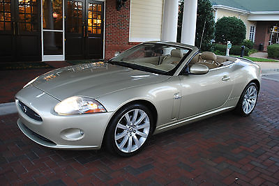 Jaguar : XK XK I owner!Only 24k miles! 2007 Jaguar XK Convertible.The best available N.Carolina