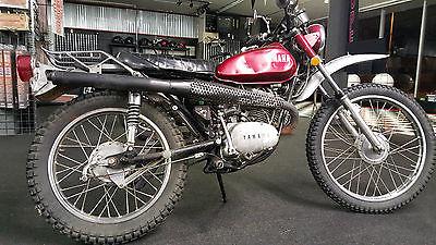 Yamaha : Other YAMAHA CT1 125 ENDURO 1972 MX VINTAGE WEB CO BASSANI AHRMA DIRT BIKE
