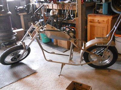 Custom Built Motorcycles : Other Vintage Custom Chopper unfinished bike (motorcycle)