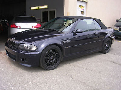 BMW : M3 Convertible 2002 bmw m 3 cabriolet convertible e 46 coupe incredibly clean car will ship