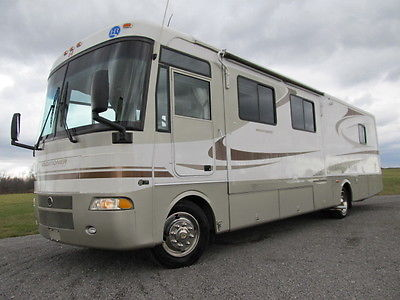 2004 HOLIDAY RAMBLER VACATIONER 37 FOOT RV- GM 8.1L GAS