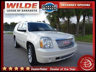 GMC : Yukon 2WD Denali 2014 gmc yukon denali 2 wd navi rear dvd leather sunroof more