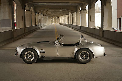 Shelby Black BEAUTIFUL 1965 Shelby American Cobra 427 S/C CSX4227 Continuation 289 AC Ford