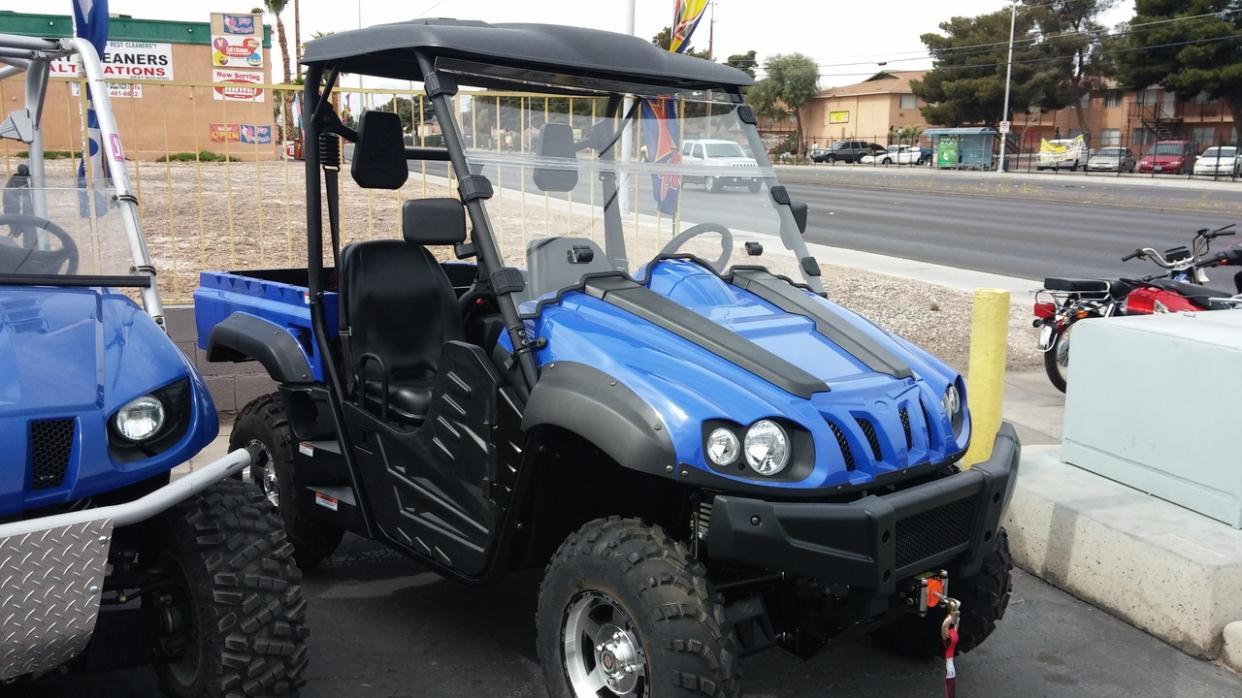 2016 Yamaha Grizzly Camo