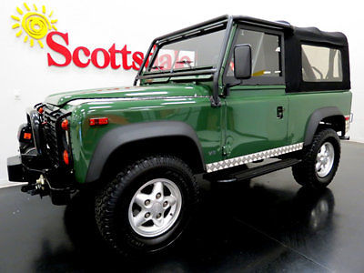 Land Rover : Defender ONLY 27K MILES, AZ SOLD NEW, LOADED w OPTIONS!! 95 d 90 soft top only 27 k mi 5 sp ac winch diamond plating tow loaded