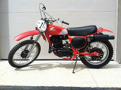 Honda : CR 1976 honda cr 250 m elsinore restored