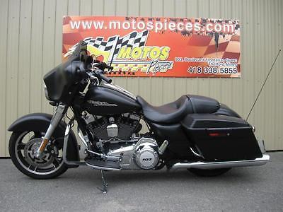 Harley-Davidson : Touring Harley-Davidson FLHX Street Glide 2013 103PCC 1688cc STREETGLIDE FLH TOURING