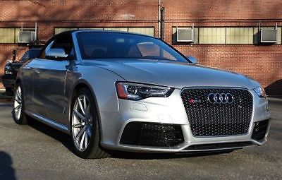 Audi : Other Cabriolet Convertible 2-Door 2014 audi rs 5 cabriolet convertible 2 door 4.2 l 148 pictures 6162 miles l k