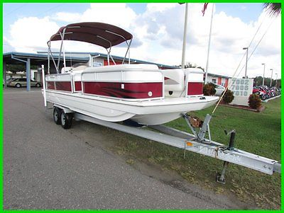 2012 Hurricane FUNDECK 226 with trailer,YAMAHA 115HP 4 STROKE
