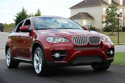 BMW : X6 xDrive 50i 2010 bmw xdrive 50 i vermillion red sport activity 20 wheels