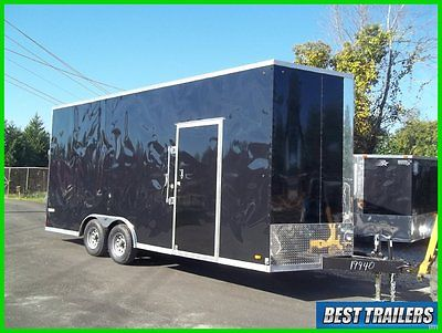 2016 Look 8 x 20 extra height New tall carhauler enclosed trailer stacker 8x20