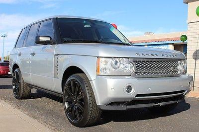 Land Rover : Range Rover Sport HSE Sport Utility 4-Door 2008 land rover range rover sport hse sport utility 4 door 4.4 l