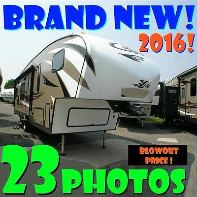 BRAND NEW 2016 Cougar X-Lite 27RKS full warranty gorgeous lightweight 5th wheel!