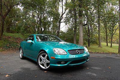Mercedes-Benz : SLK-Class Wood Veneer 2002 mercedes benz slk 320 54 000 miles