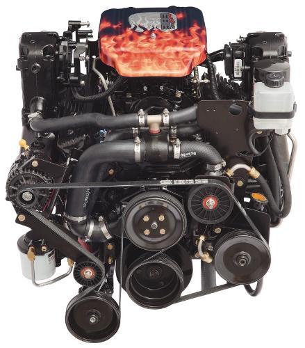 2016 MERCRUISER 383 MAG Bravo 4V 350HP -Bobtail Engine and Engine Accessories