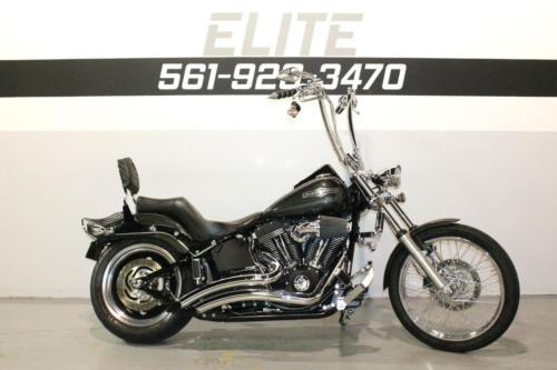 Harley-Davidson : Softail 2009 harley night train fxstb video 156 a month
