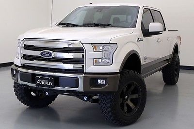 Ford : F-150 King Ranch 16 ford f 150 king ranch 6 inch pro comp lift 20 inch fuel wheels navigation