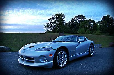 Dodge : Viper R/T-10 1999 dodge viper r t 10 convertiable 8.0 l rare super car only 7 k miles