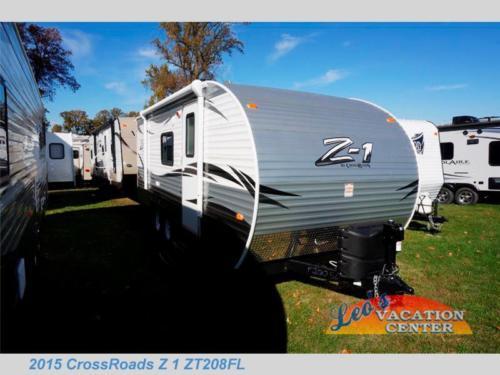 New 2015 CrossRoads RV Z 1 ZT208FL