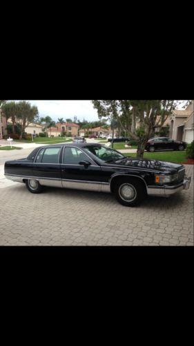 Cadillac : Fleetwood 4 door fleetwood cadillac