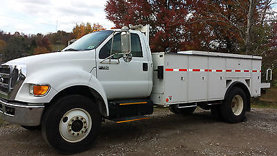Ford : Other Pickups 2008 ford f 750 6.7 l cummins 7 speed 155 k miles excellent condition