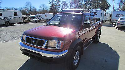 Nissan : Frontier XE CC 2000 nissan frontier xe crew cab v 6 5 spd 4 door clean southern truck